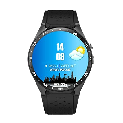 Teepao KW88 3G Smart Watch WIFI Smartwatch teléfono móvil todo en uno Bluetooth Smart Watch Android