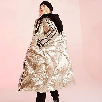 GUXIU Abrigo Mujer Chaqueta de Invierno 90% Chaqueta Blanca ...