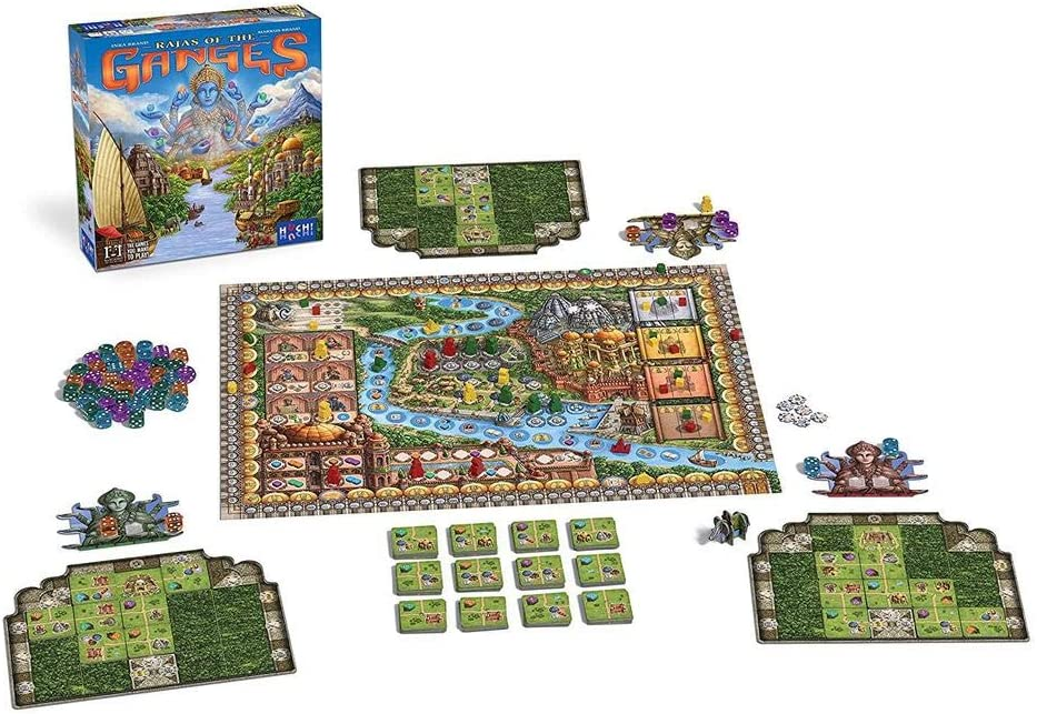 Devir Iberia 26034 Juego Ganges Devir, Multicolor: Amazon.es: Juguetes y juegos
