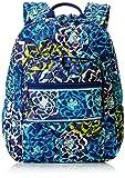 Women's Campus Tech Backpack, Signature Cotton, Katalina Blues