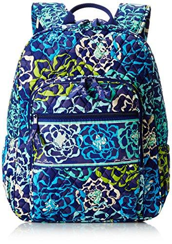 Women's Campus Tech Backpack, Signature Cotton, Katalina Blues - Non Chipboard