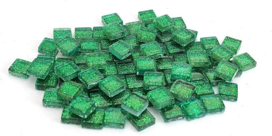 SUPVOX 300g Azulejos de mosaico de colores mezclados mosaico de vidrio diy artesan/ía decoraci/ón