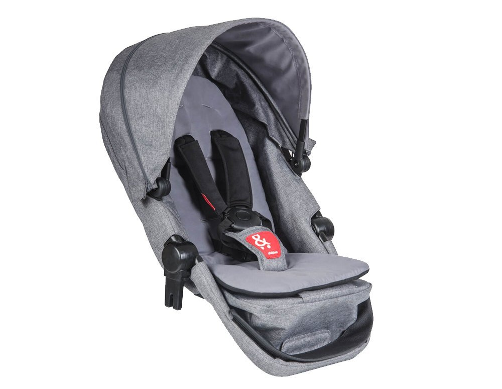 Phil & Teds Voyager Buggy DOUBLES Kit, grau marl phil&teds VOYDK_V1_7