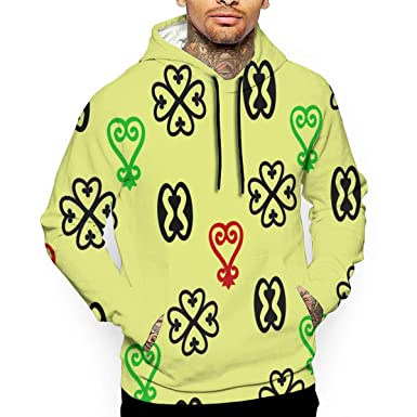 Men s Adinkra Hoodies Sweatshirts Pullover Print 3D Sweaters Fashion Cozy  Navy 9e5bad37c