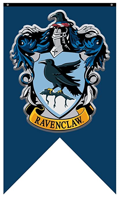 graphic regarding Hogwarts Banner Printable identify Harry Potter Ravenclaw Area Wall Banner