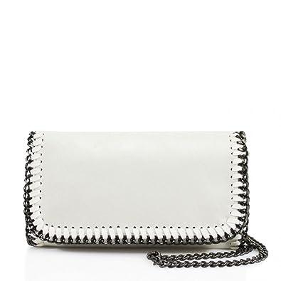 e6557b943f Womens Stella Design Chain Detail Cross Body Bag Ladies Shoulder bag Work  New Beige