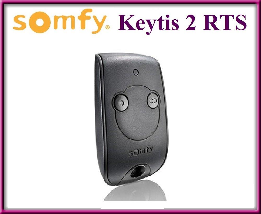 SOMFY KEYTIS 2/NS de strat/égie en temps r/éel contr/ôle /à distance 2/canaux Original de qualit/é sup/érieure SOMFY T/él/écommande pour le meilleur prix.