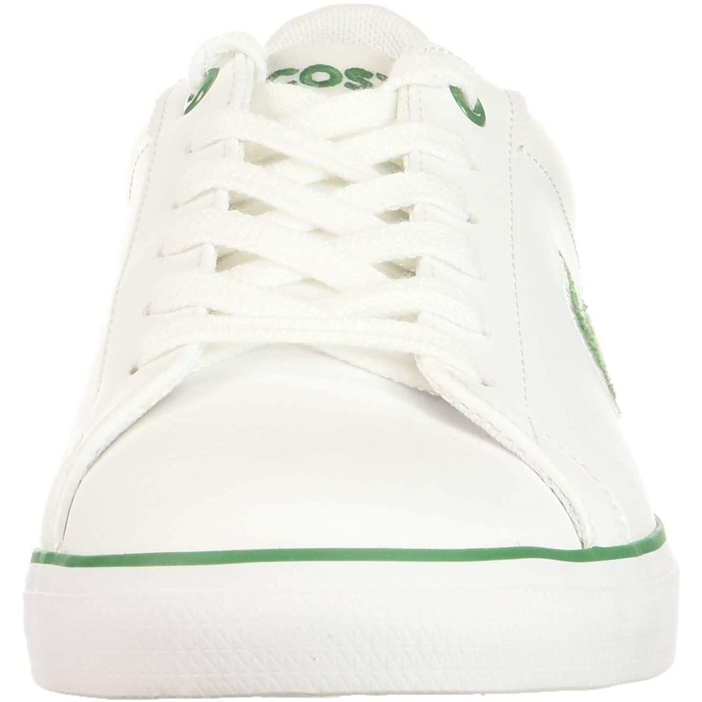 9f4dc9323 Lacoste Lerond 318 2 White Green Synthetic 37 EU  Amazon.co.uk  Shoes   Bags