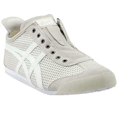 uk availability b3765 1fc8d Onitsuka Tiger Men's by Asics Unisex Mexico 66 Slip-On White ...