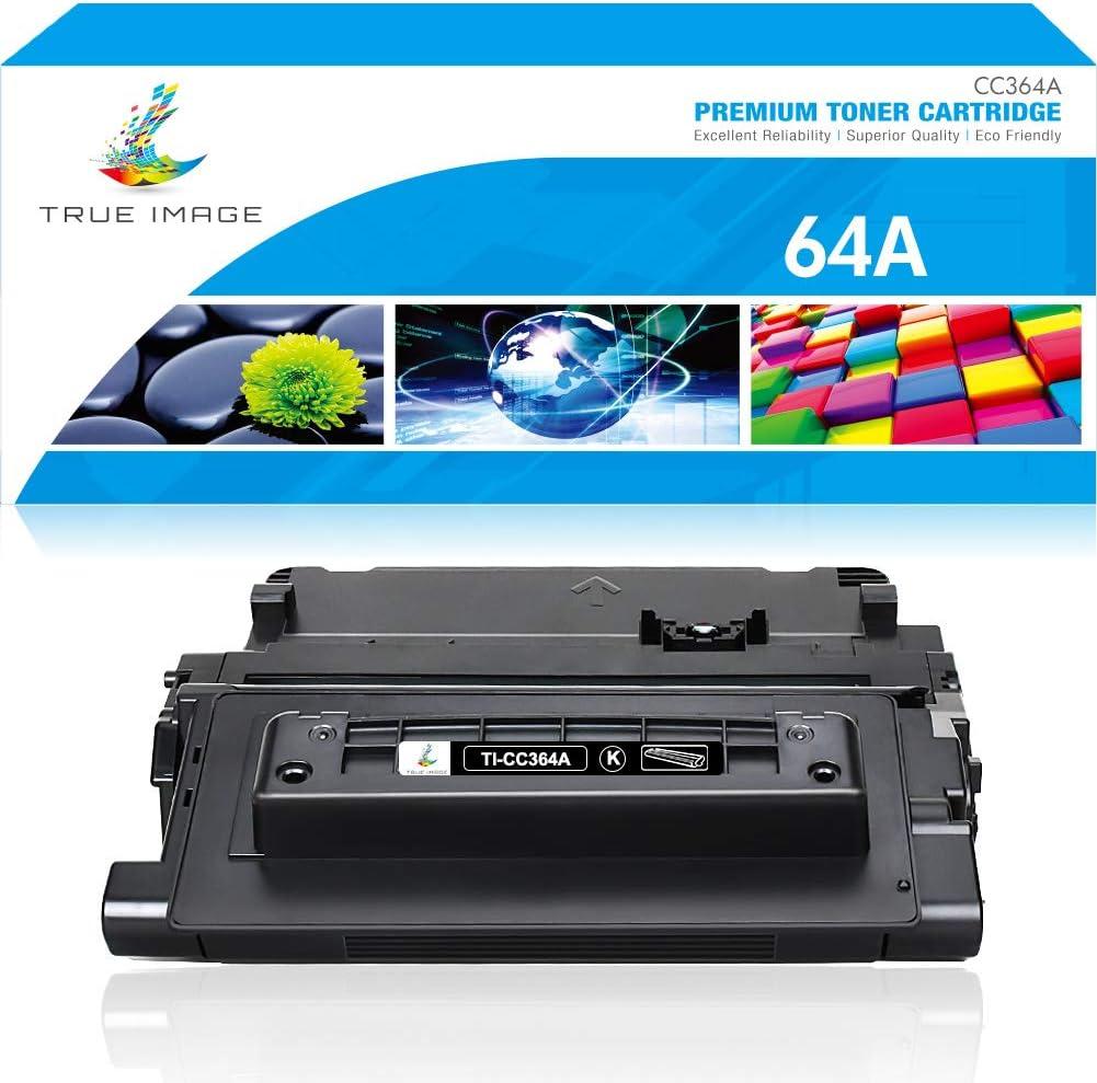 True Image Compatible Toner Cartridge Replacement for HP 64A CC364A Laserjet P4015N P4015 P4015X P4015DN P4515 P4515N P4515X Printer Ink (Black, 1-Pack)