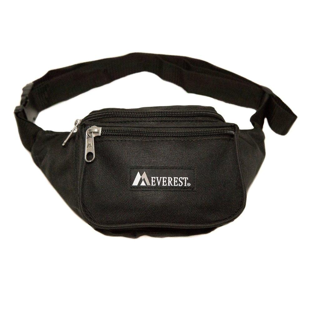 Everest Signature Waist Pack - Standard, Dark Purple, One Size EVFDS 044KD-DPL