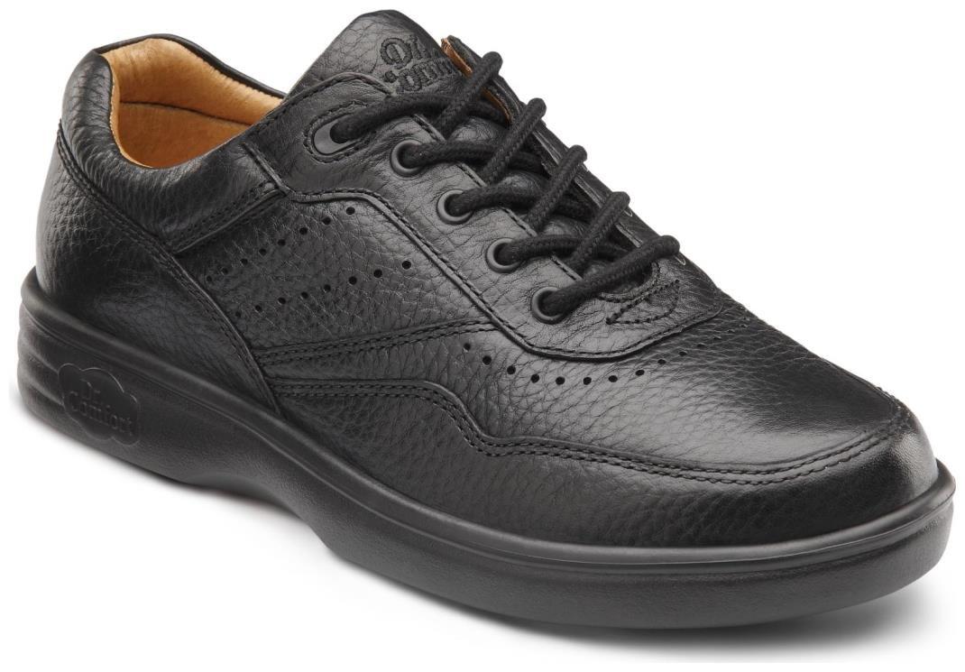 Dr. Comfort Patty Women's Therapeutic Diabetic Extra Depth Shoe: Black 8.5 X-Wide (E-2E) Lace