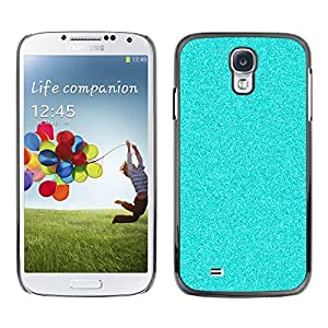 [Neutron-Star] Snap-on Series Teléfono Carcasa Funda Case Caso para Samsung Galaxy S4 [Fondo azul claro del brillo Luminoso]