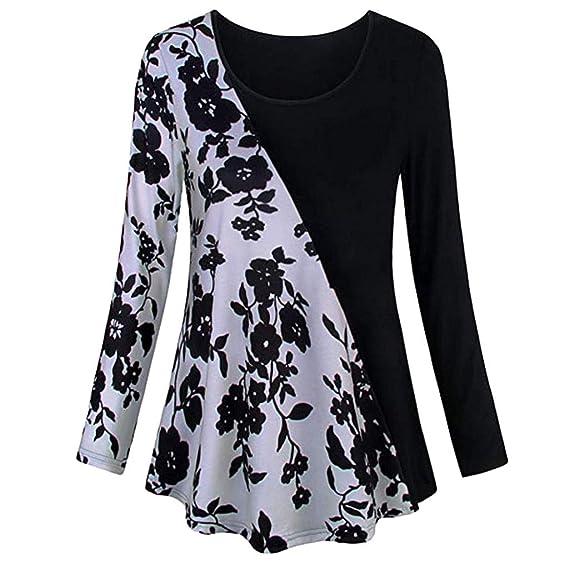 ZODOF Camisetas Mujer Verano Blusa Mujer Elegante Camisetas Mujer Fiesta Algodón Tops Mujer Fiesta Camisetas Sin Hombros Mujer Tops Mujer Fiesta: Amazon.es: ...