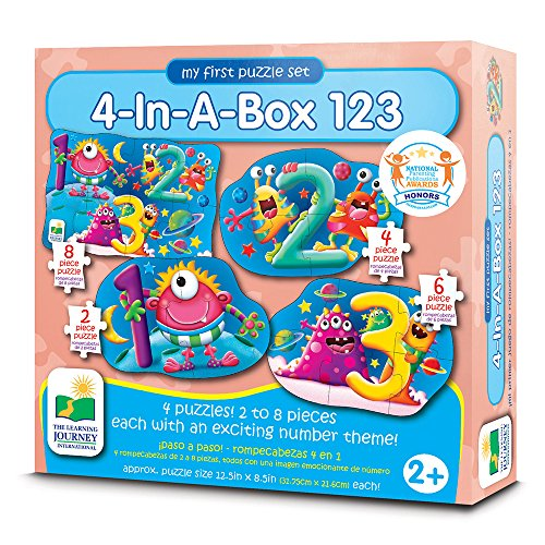 Box Puzzle Solution (The Learning Journey My First Puzzle Sets 4-In-A-Box Puzzles, 123)