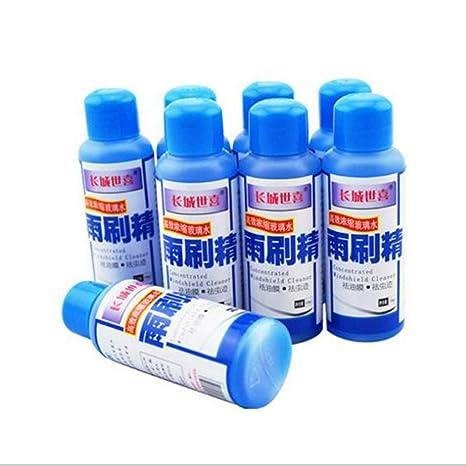 Jullyelegant 50 ML Limpiador de limpiaparabrisas automático súper Concentrado limpiaparabrisas limpiaparabrisas de automóvil de Coche líquido