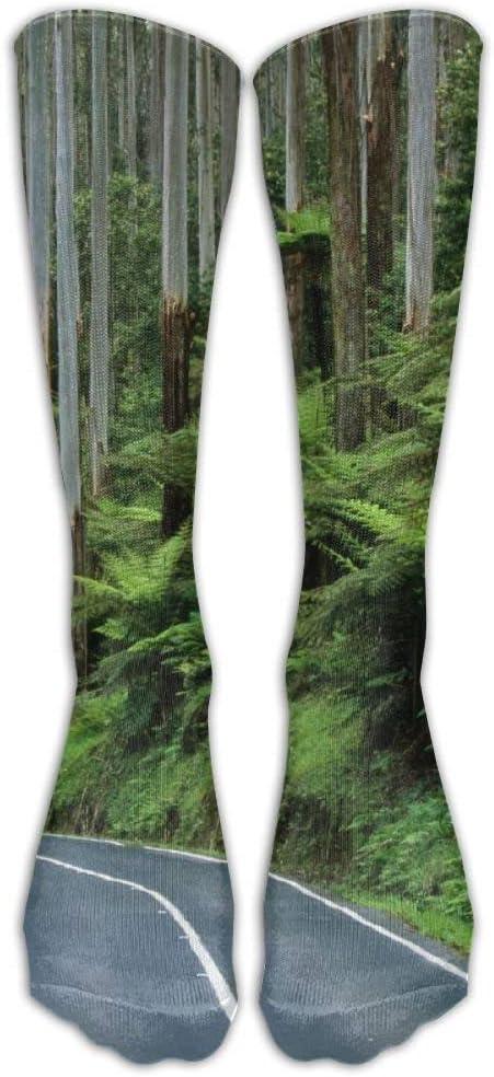 FUNINDIY Forest Australia Athletic Tube Socks Women Men High Socks Crazy Socks