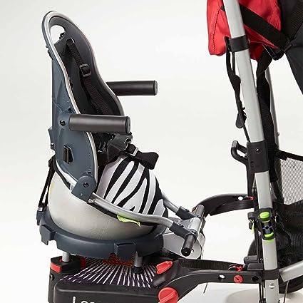 Asiento adicional para carrito con junta adaptador Buggypod Perle Zebra [10000010 + 20000015]
