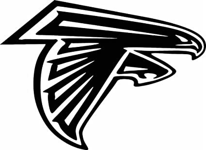 Laptops etc. Black TDT Printing & Custom Decals 8x 8 Atlanta Falcons Vinyl Decal Sticker for Car or Truck Windows