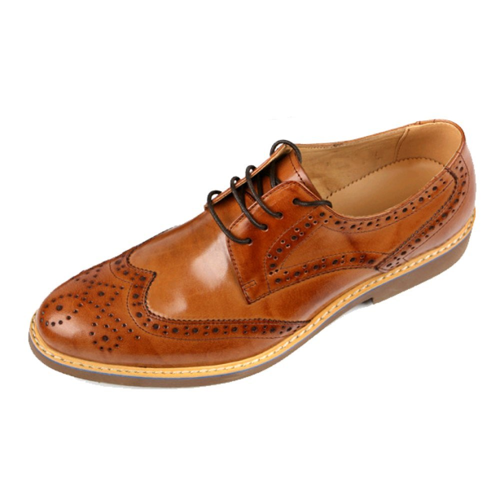 ZQZQ Herrenschuhe England Carved Business Formelle Kleidung Brock