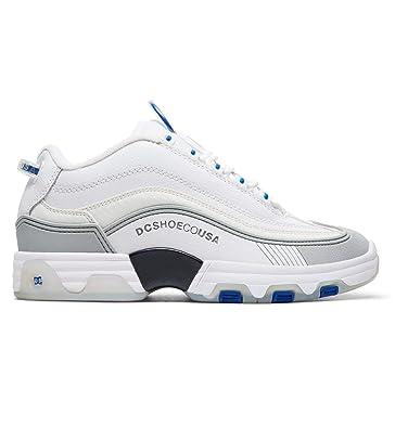 b67593c89d DC Men s Legacy OG White Blue 8 D US  Amazon.co.uk  Shoes   Bags