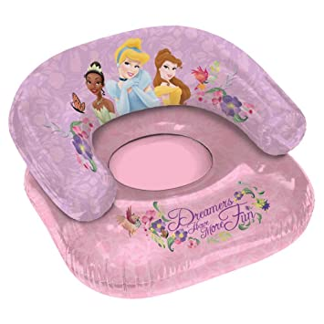 Amazon.com: Disney Princess – Silla hinchable: Toys & Games