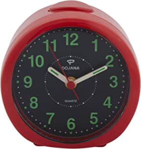 Dojana Alarm Oclock Da8830-Red-Black
