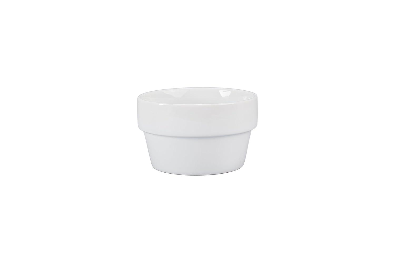 BIA Cordon Bleu 940417S4SIOC Classic Dinnerware Porcelain Bowls, White