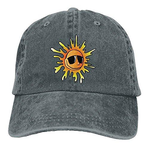 Kkidj Ooii Cowboy Baseball Cap Men&Women Dad Style Hat Sunflowers - Hutt Glass Sun