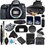Canon EOS 6D Mark II DSLR Camera (Body Only) International Version (No Warranty) + Epson SureColor P600 Inkjet Printer + 16GB & 32GB SDHC Class 10 Memory Card + Carrying Case Bundle