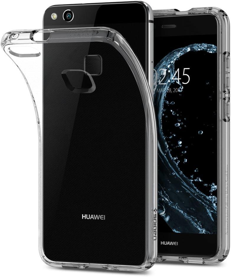 Spigen, Funda Compatible con Huawei P10 Lite [Liquid Crystal] Protección Delgada de Gel Silicona y claridad Premium de TPU [Compatible con Carga Inalámbrica]: Amazon.es: Electrónica