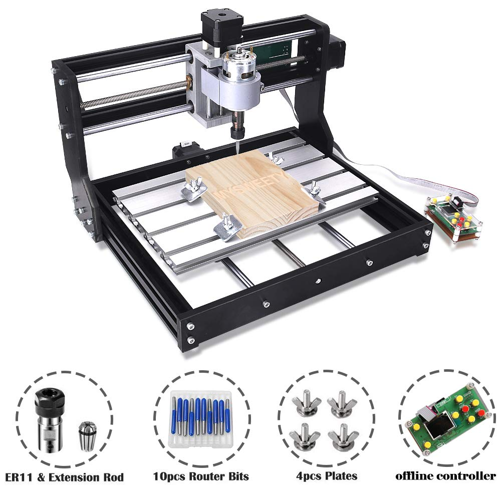 Upgrade Version CNC 3018 Pro GRBL Control DIY Mini CNC Machine, 3
