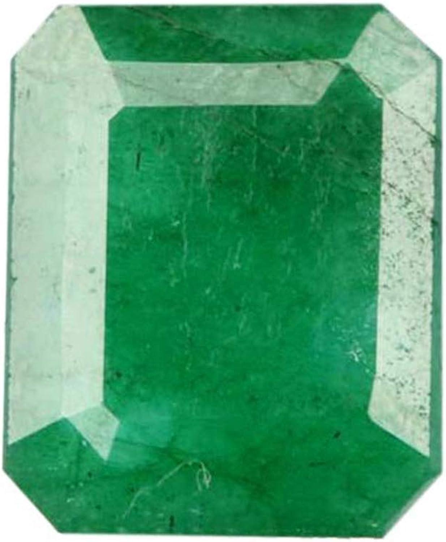 Green Emerald Loose Gemstone 5.40 Carat EGL Certified Green Emerald Gem for Jewelry B-7805