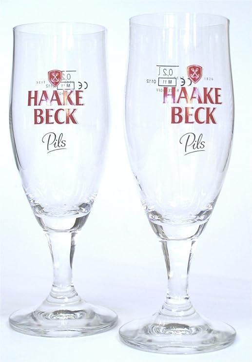 Becks Henry Glas Gl/äser 6er Set 6x0,2 Liter Exclusive Gastro Edition