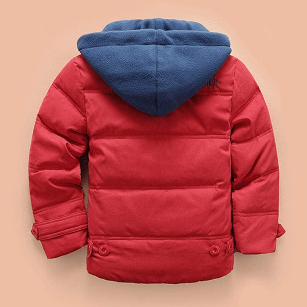 Boys Down Jacket Boys Winter Jackets Boys Down Coats Winter Hoodie Puffer Coat Boys Coats