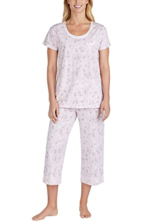 5b0196489bfcf Carole Hochman Women s 2 Piece Capri Pajama Set at Amazon Women s ...