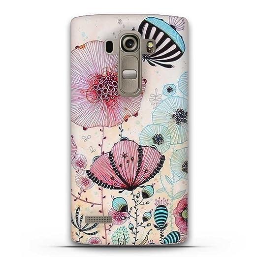 2 opinioni per LG G4S(G4 Beat) Cover, Fubaoda Estetico 3D Rilievo UltraSlim TPU Skin Cover