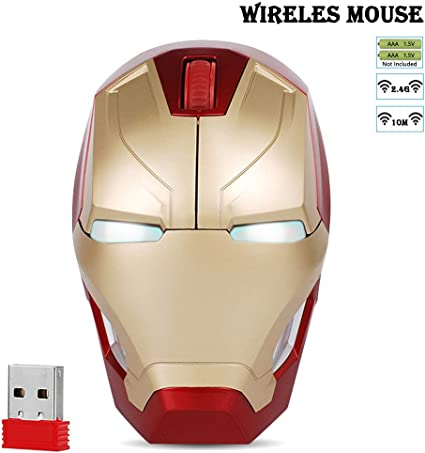 Desk Computer Mouse Mice COOL Black Panther Marvel Movie Laptop Game Wired Mouse
