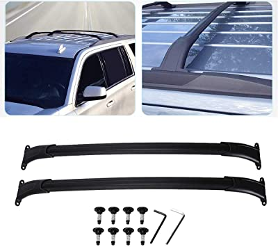 Cadillac Escalade ESV Chevy Tahoe Tuntrol Roof Rack Cross Bars Fit for 2015 2016 2017 2018 2019 Chevy Suburban GMC Yukon /& Yukon XL Cadillac Escalade