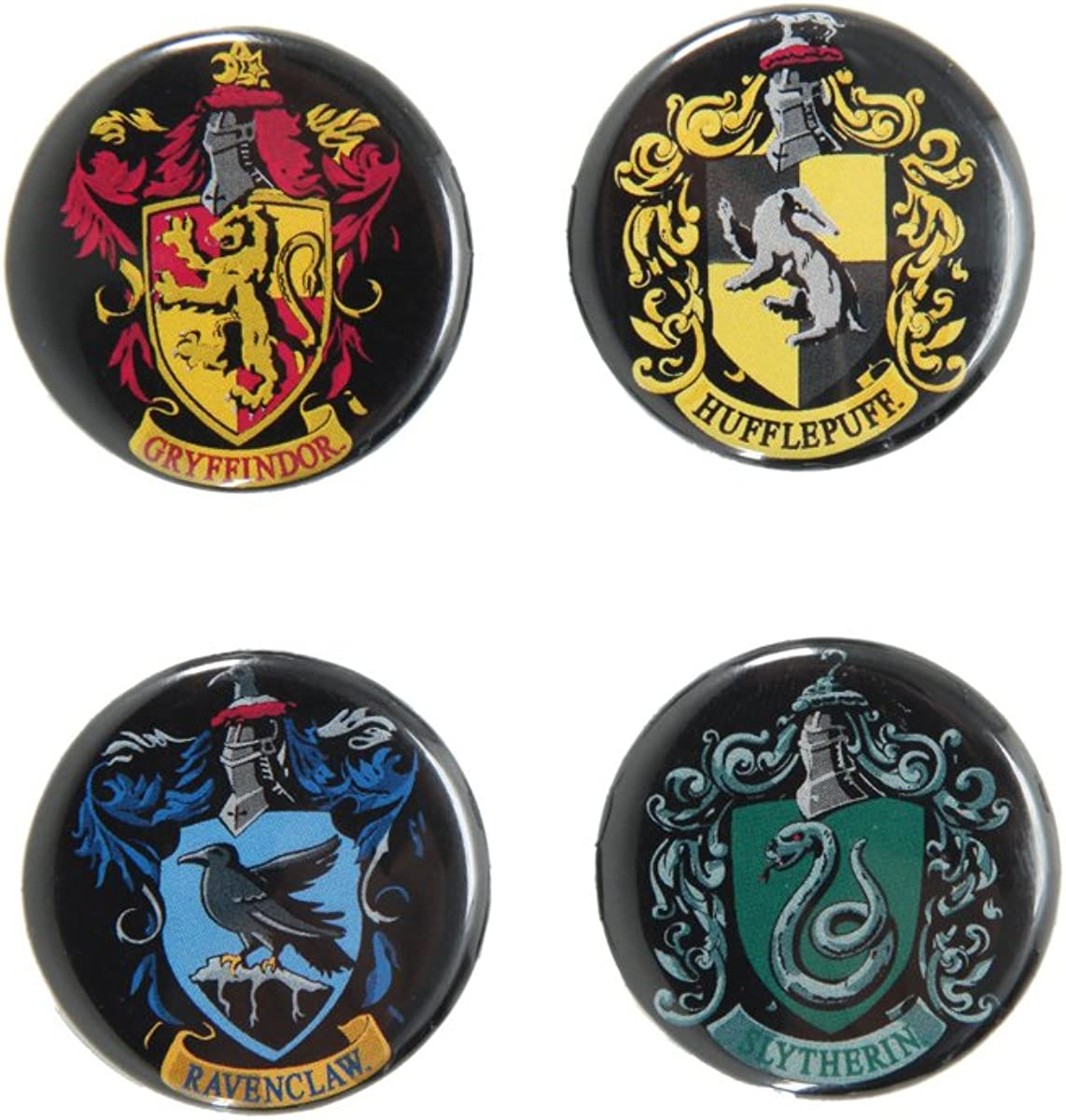 Harry Potter Crests Pin Set
