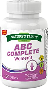 Nature's Truth Adult Women's Multivitamin 100 Count