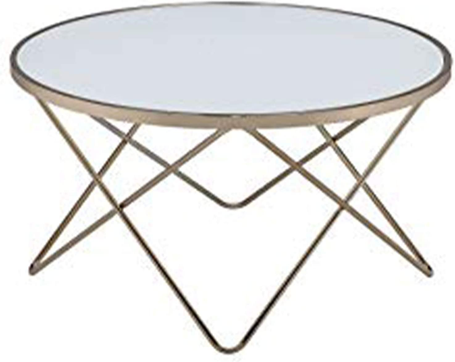 - Amazon.com: HomeRoots Contemporary Style Round Glass And Metal