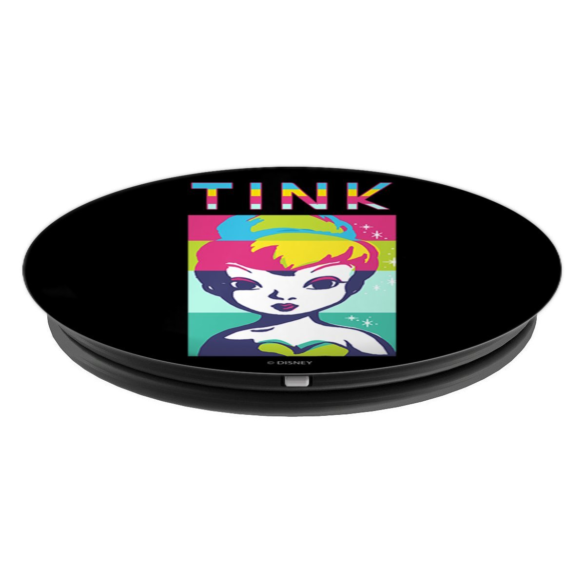 Disney Peter Pan Tinkerbell Throw Glitter In Todays Face PopSockets Grip and Stand for Phones and Tablets