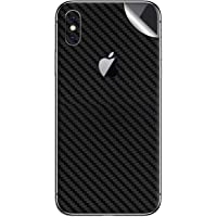 DBRAND Black Carbon Split 3M Skin for Apple iPhone Xs MAX (Back ONLY)