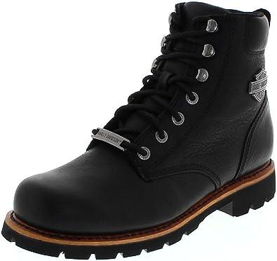 Harley Davidson Vista Ridge D93423 Black/Herren Schnürstiefel Schwarz/Harley  Boots/Chukka Stiefel