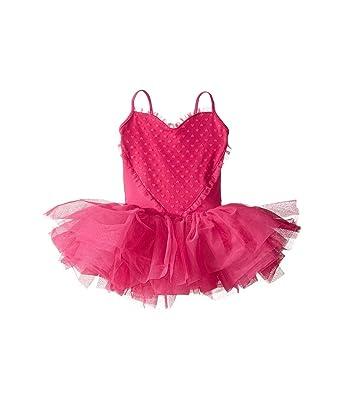 0b3077561704 Amazon.com  Bloch Girl s Dance Heart Mesh Camisole Tutu Leotard ...
