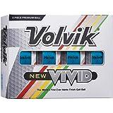 Volvik 2020 Vivid Golf Balls #1-#4 12-Ball Pack
