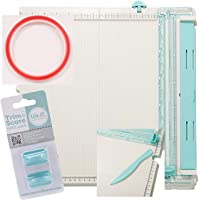 We R Memory Keepers Scoring Board for Paper Folding Scrapbooking Crafting Trimming Cutting Crease Score Board Bundle…