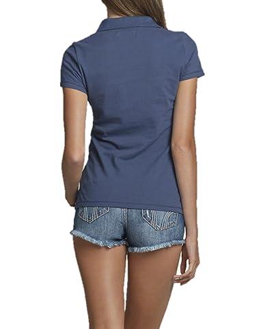 Hollister camiseta de Polo para mujer - -: Amazon.es: Ropa y ...