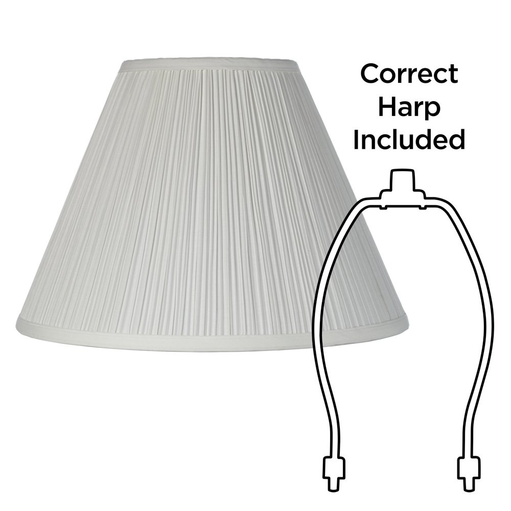 Amazon lamp shades tools home improvement - Brentwood Antique White Lamp Shade 6 5x15x11 Spider Lampshades Amazon Com